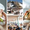 Sciare con panino gourmet