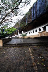 Dambulla, l'antico tempio nella roccia.