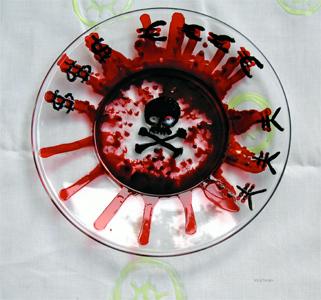 ARTE Grazia -PIATTO-SANGUE-SOLDI500X300