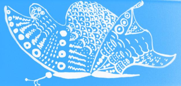 piatrella farfalla azzurra