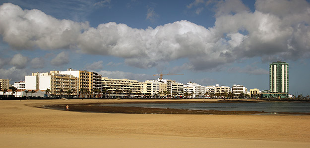 Spiaggia in centro città.