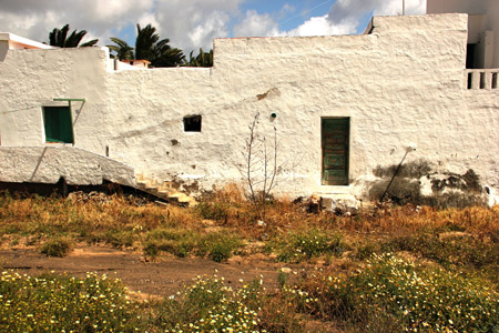Arrieta; case antiche.