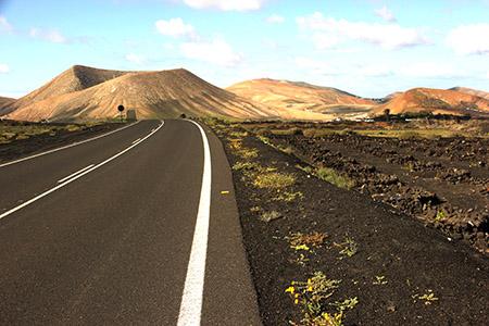 Paesaggio di Lanzarote.