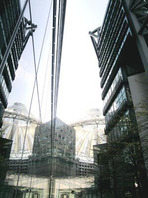 Berlino, centro Sony.