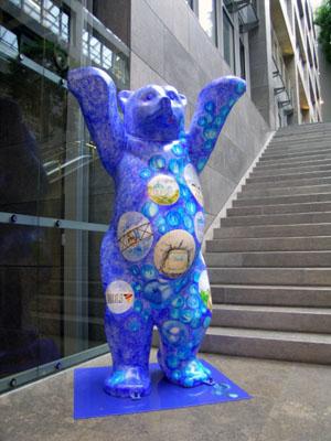 L'orso è il simbolo di Berlino.