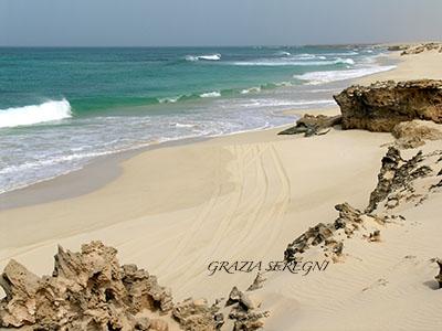 Boa Vista spiaggia di Verandinha