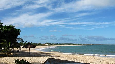 Brasile, Itacimin dove ancora si nuota con le tartarughe ! Vista dalla Posada de Espera.