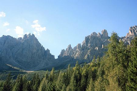 Friuli Venezia Giulia, Dolomiti viste da Forni di Sopra.