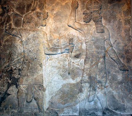 Londra, BM, civiltà assiria 7° secolo a.C.