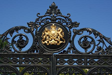 Londra, KG, cancello