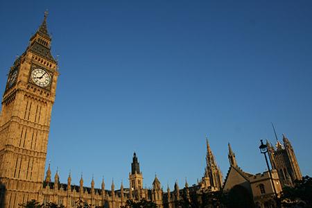 Londra, La sede del parlamento e il Big Ben