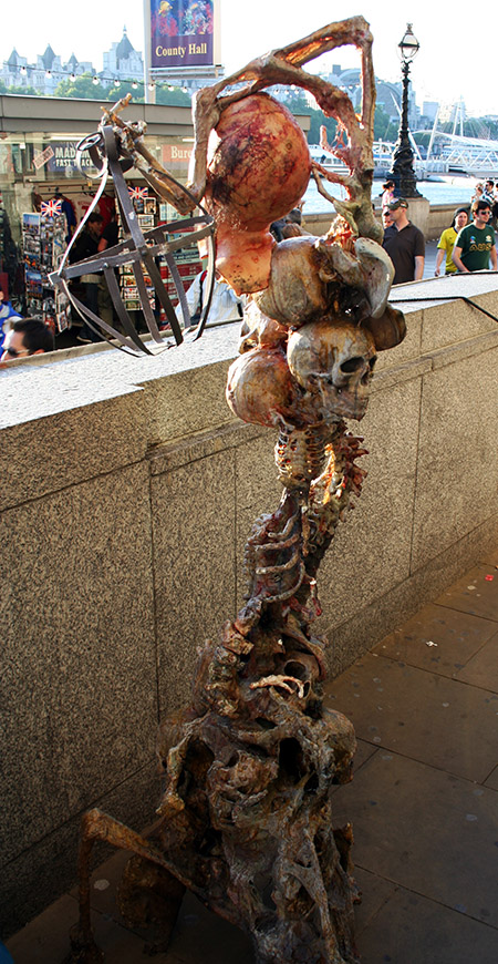 Londra, arte per strada.