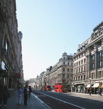 Londra, edifici in Regency Style.