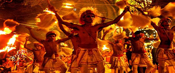 SRY LANKA FESTA FOLCLORE