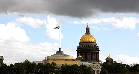 San Pietroburgo, cattedrale di Sant' Isacco.