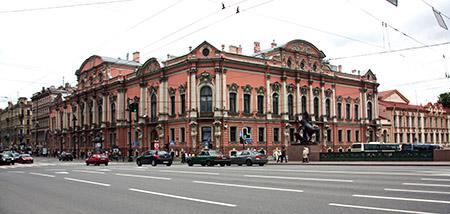 San Pietroburgo, Nevskij  prospect, la via più importante della città.