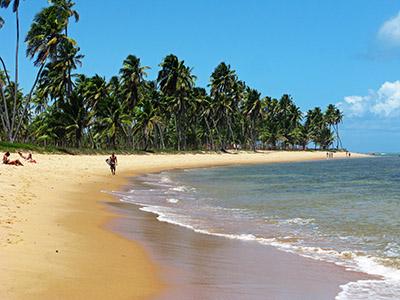 Brasile, Porto Seguro, spiaggia