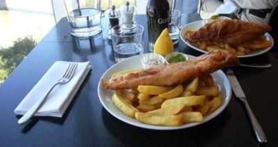 Londra, pesce e patatine alla Tate Mdern Gallery