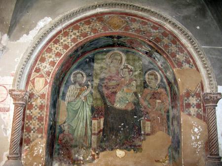 umb arte Monteleone di Spoleto chiostro
