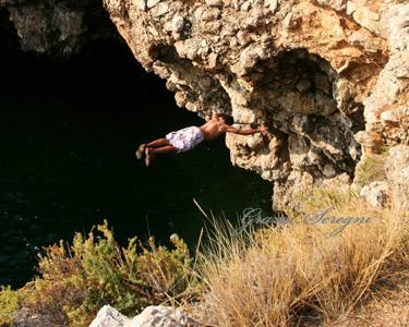 PANOAMA salto orizzontale Puglia