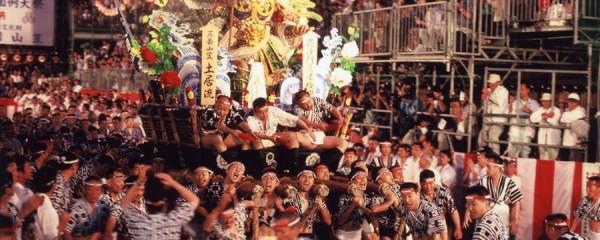 Giappone hakata-gion-yamagasa