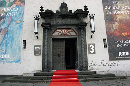 NORVEGIA BERGEN MUSEO ENTRATA