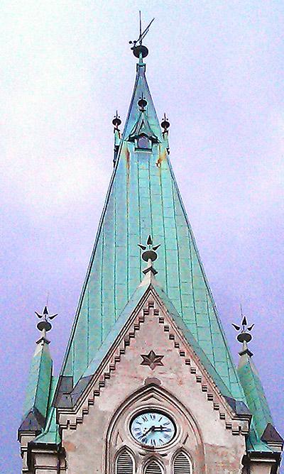 Norvegia Princ campanile punta
