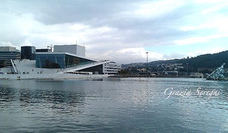 Norvegia oslo porto opera house