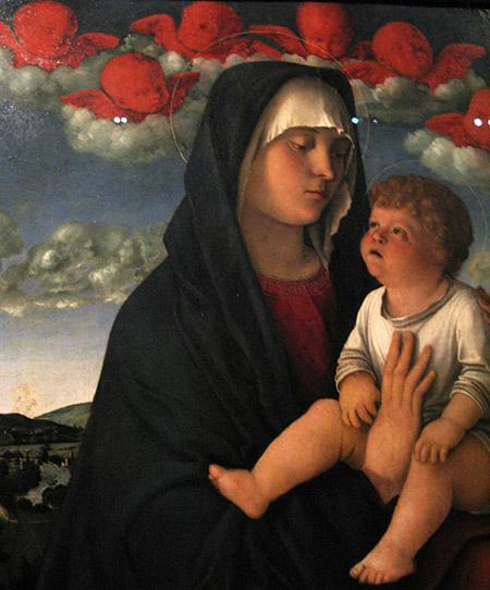 arte Ve Giovanni Bellini Mad dei cherub rossi IMG_0205