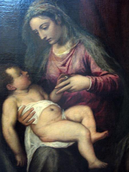 Ve Tiziano Madonna con Bambino IMG_0183