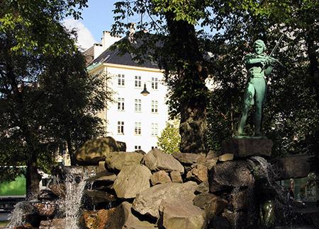 norvegia BERGEN MONUMENTO FONT