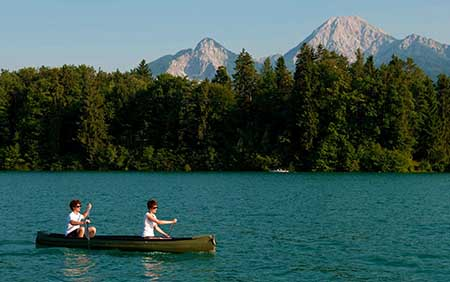 Villach_450 Lago_Faak_Kayak