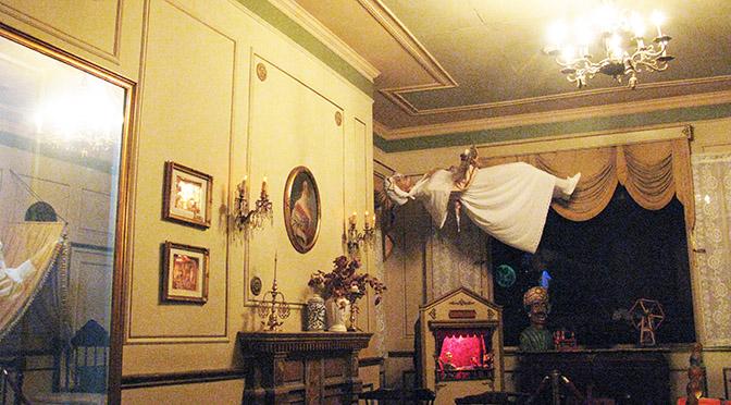 Barcellona Bar Las Fatas lievitazione del cadavere