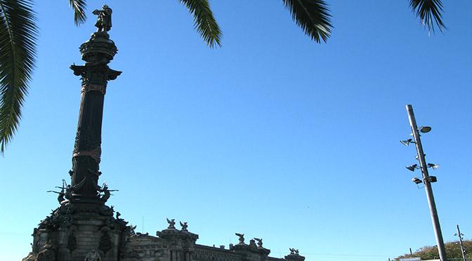 Barcellona monumento a Cristoforo Colombo
