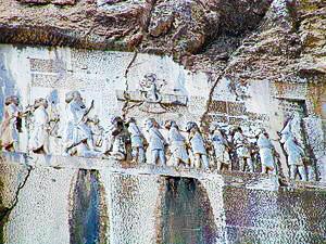 DARIO ARCHEOLOGIA 300px-Bisotun_Iran_Relief_Achamenid_Period