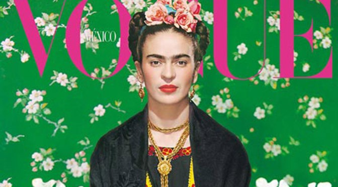 Frida Kahlo Vogue Mexico
