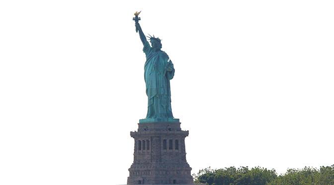USA NY statua della libertà