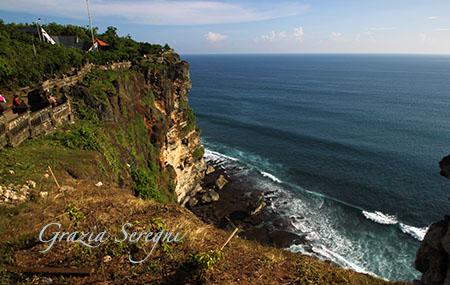Bali Pura Luhur Uluwatu, penisola sud
