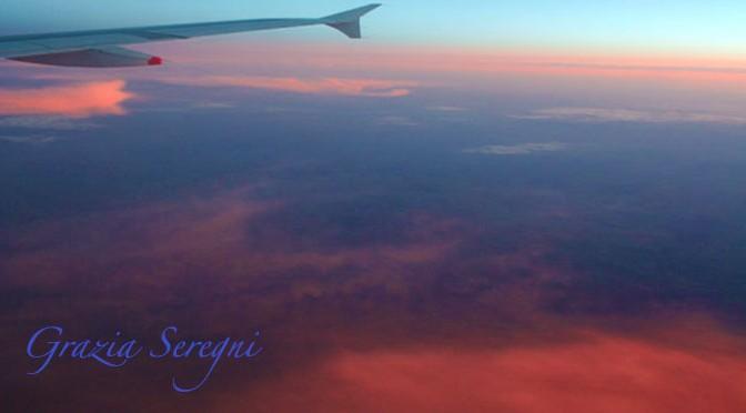 aereo 672  tramonto varie