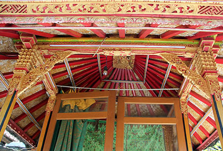 Bali casa particolare di un tetto n