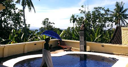 Bali resort wayan piscina privata