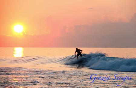Bali surf alba giallo esotico