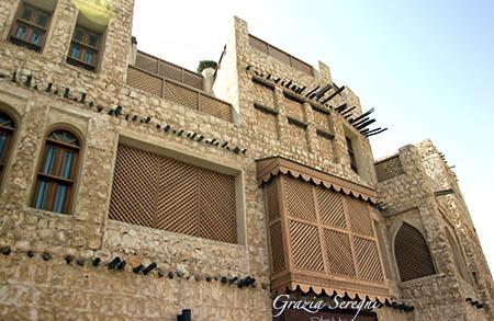Qatar antico souk ristrutt case