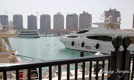 Qatar barca sotto casa n
