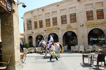 Qatar centro antico ristrutturato cavallo