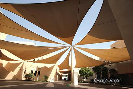 Qatar nuovo centro culturale coperture dal sole ok ok