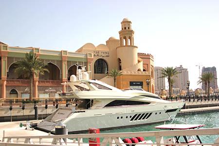 Qatar yact sotto casa