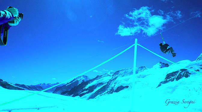 Evento scenografico sulle ghiacciaio del Rettenbach. – MUSICAL DRAMMATICO A 3.000 metri 21 aprile 2017