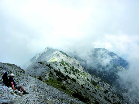 Macedonia Long Distance Path Ε4 at Mt Olympus [Pieria]