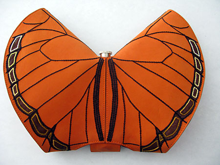 Tallin Accademia Arte borsa farfalla n